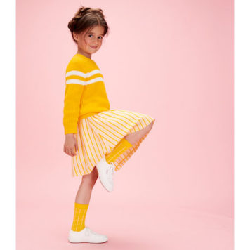 Lily Balou Skirt Adele Juicy Stripes