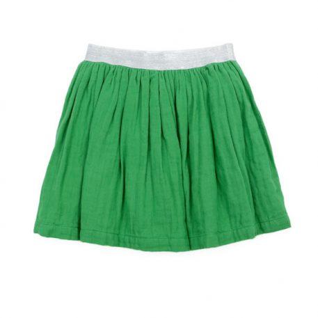 Lily Balou Skirt Adele Skirt Muslin Grass Green