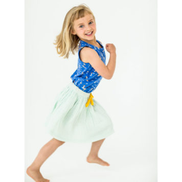 Lily Balou Skirt Isadora Clearly Aqua