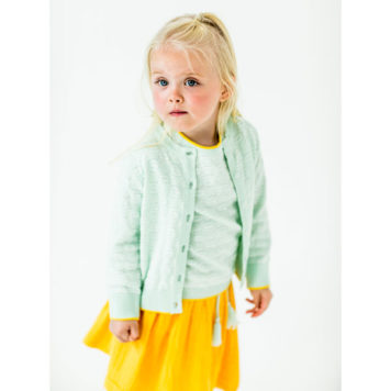 Lily Balou Skirt Isadora Lemon Chrome