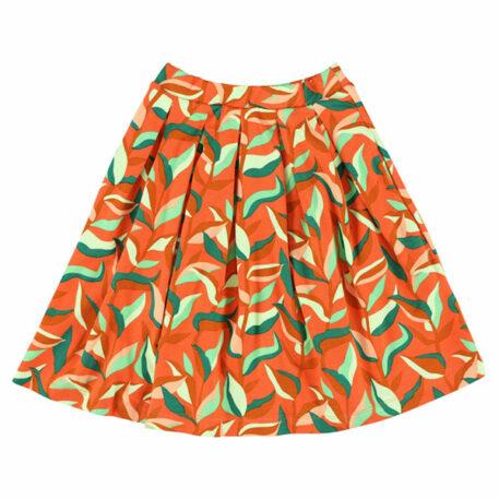 Lily Balou Soho Midi Skirt Jungle