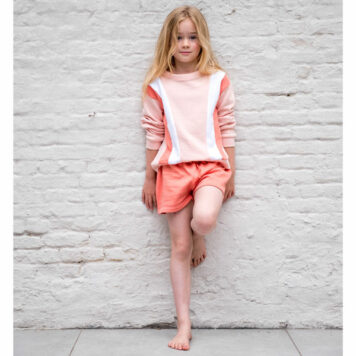 Lily Balou Sweater Jake Colourblock Creole Pink