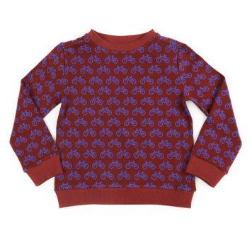 Lily Balou Sweater Mika Jacquard Bikes