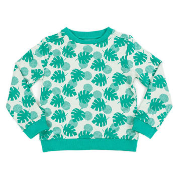 Lily Balou Sweater Mika Palm Leaves