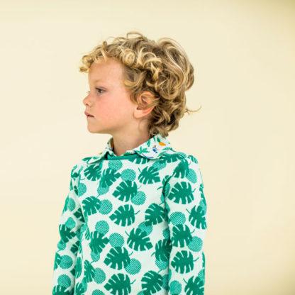 Lily Balou Sweater Mika Palm Leaves