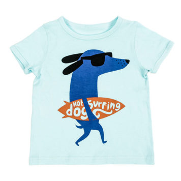 Lily Balou T-shirt Louis Clearly Aqua