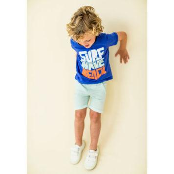 Lily Balou T-shirt Louis Dazzling Blue