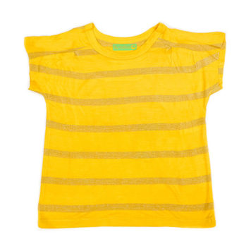 Lily Balou T-shirt Lynn Lemon Chrome