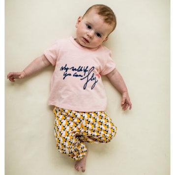 Lily Balou T-shirt Rosaline Stripes Blossom