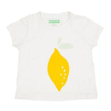 Lily Balou T-shirt Rosaline White Lemon