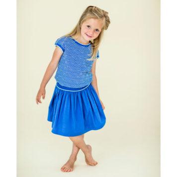 Lily Balou Top Bella Dazzling Blue