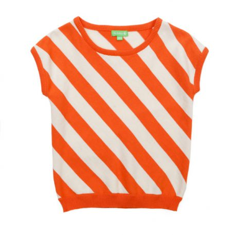 Lily Balou Top Bella Red Orange