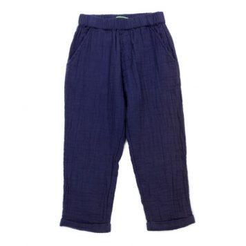 Lily Balou Trousers Nikki Muslin Gentian Blue
