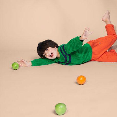 Lily Balou Trui Otis Grass Green