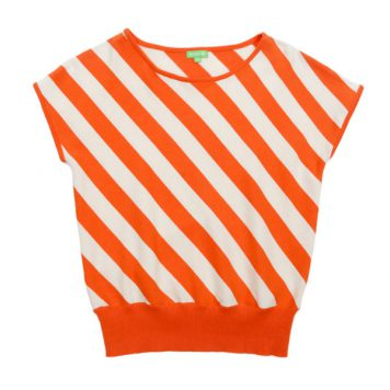 Lily Balou Woman Bella Top Red Orange