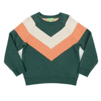 Lily Balou Woman Livia Sweater Dark Green