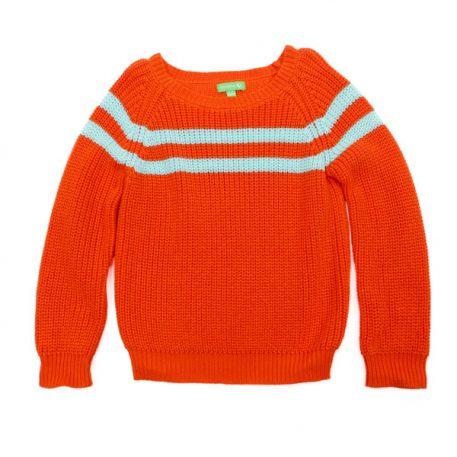 Lily Balou Woman Otis Sweater Red Orange