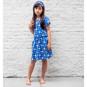 Lily Balou Yara Dress Kobalt Dream