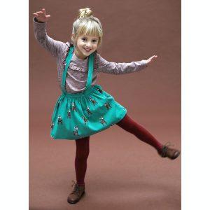 Lily Balou kleedje Chloe Jacquard Deer