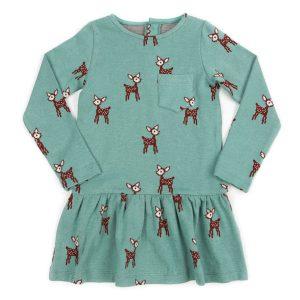 Lily Balou kleedje Fiona Dress Jacquard Deer