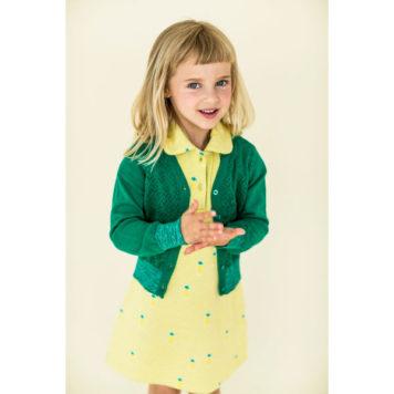 Lily Balou vest Nette Emerald