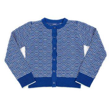 Lily Balou vest Zoya Dazzling Blue