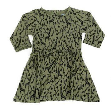 Liv+Lou Dress Obelia Jungle Girafs