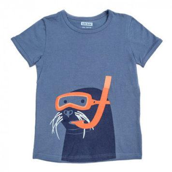 Liv+Lou T-shirt Merlijn Scuba Seal