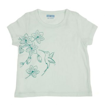 Liv+Lou T-shirt Olijfje Honey Bird