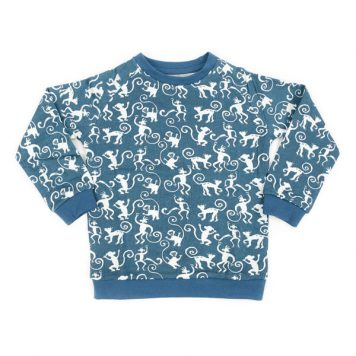 Liv+Lou sweater Odilon Crazy Monkeys