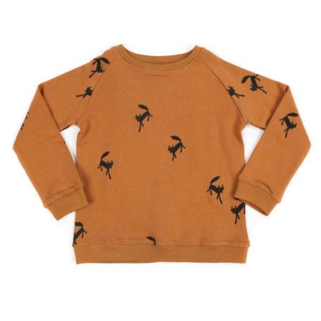 Liv+Lou sweater Pavlov Wandering Wolf