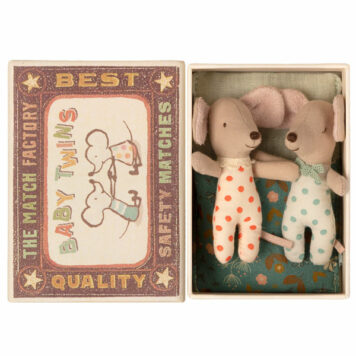 Maileg Baby Twins Muis in Box