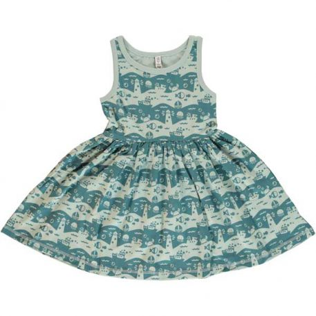 Maxomorra Dress Spin Ocean Landscape