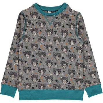 Maxomorra Sweater Grizzly Bear