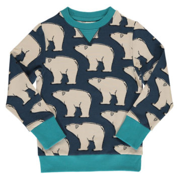 Maxomorra Sweater Polar Bear
