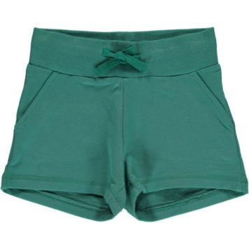 Maxomorra Sweatshort Green Petrol