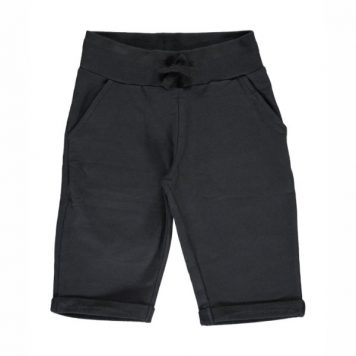 Maxomorra Sweatshort Knee Black