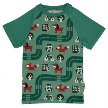 Maxomorra T-shirt Big City Slim
