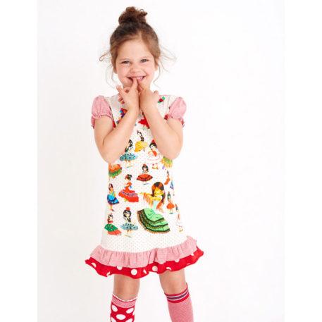 Mim-pi jurk Danseressen