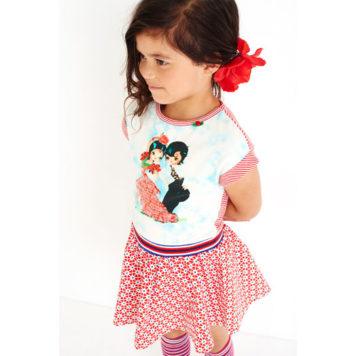 Mim-pi jurk Flamenco