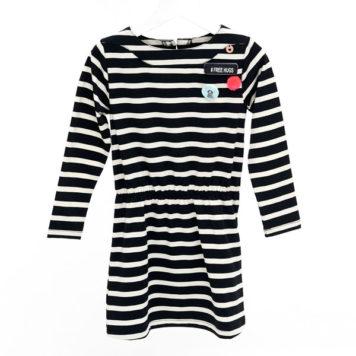 Mim-pi jurk Stripes
