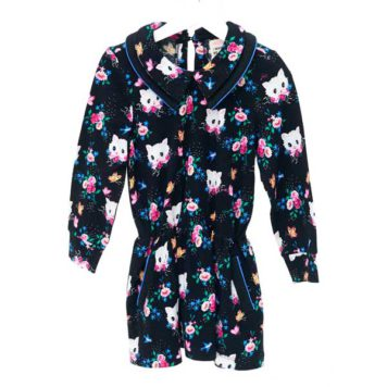 Mim-pi jurk poesjes Black