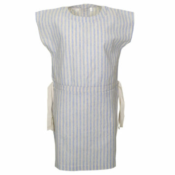 Mini Rebels Dress Maly Stripe Blue