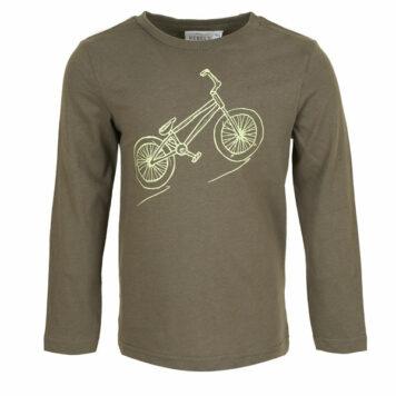 Mini Rebels Longsleeve Liam Bike Khaki Green