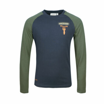Mini Rebels Nox Longsleeve Live to Ride Navy