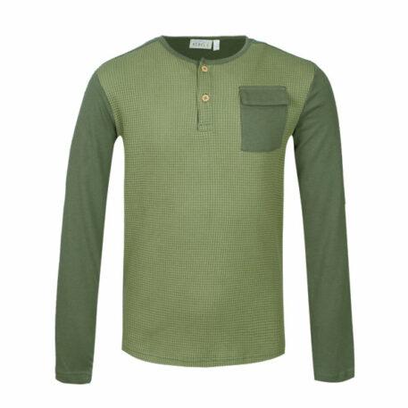 Mini Rebels Nox Longsleeve Pocket Khaki