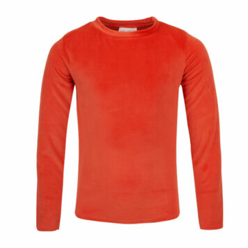 Mini Rebels Roxy Longsleeve Velours Burnt Orange