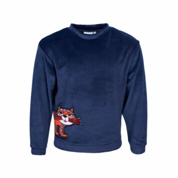 Mini Rebels Roxy Trui Velours Cat Navy