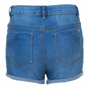 Mini Rebels Short Squeeze Denim Blue