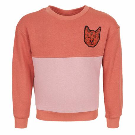 Mini Rebels Sweater Day Cat Burnt Pink